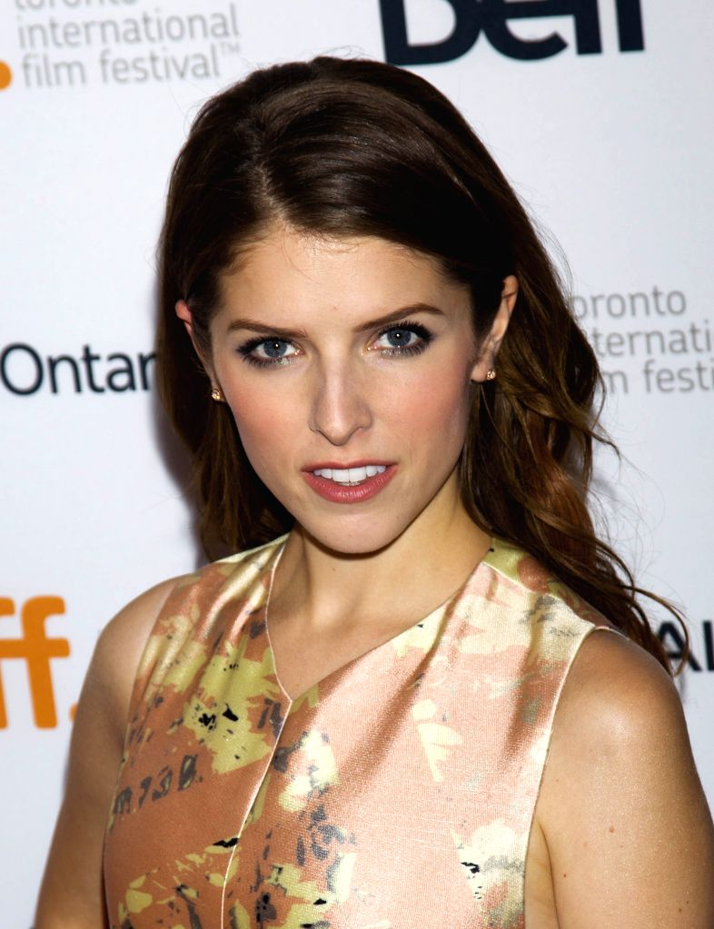 "Actress Anna Kendrick poses for photos before the premiere of the film ""Cake"" at Elgin Theatre during the 39th Toronto International Film Festival in ... - Anna Kendrick"