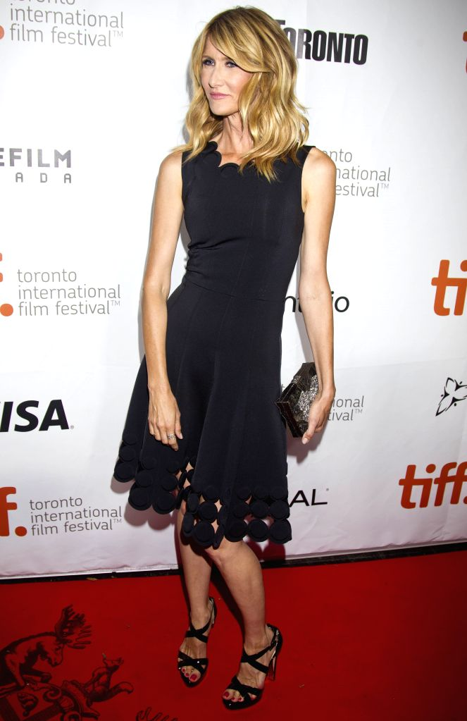 "Actress Laura Dern poses for photos before the premiere of the film ""Wild"" at Roy Thomson Hall during the 39th Toronto International Film Festival in ... - Laura Dern"