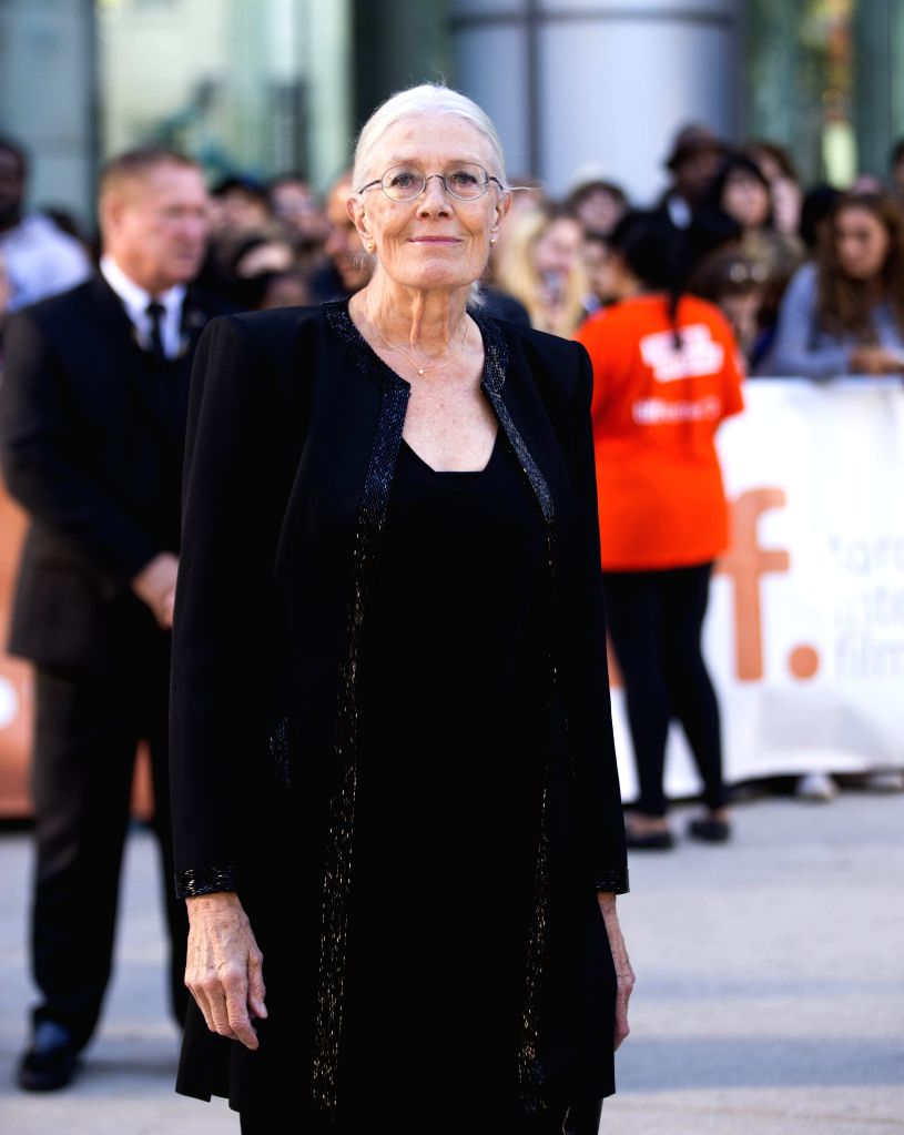 """Actress Vanessa Redgrave poses for photos before the premiere of the film """"Foxcatcher"""" at Roy Thomson Hall during the 39th Toronto International Film ... - Vanessa Redgrave"""