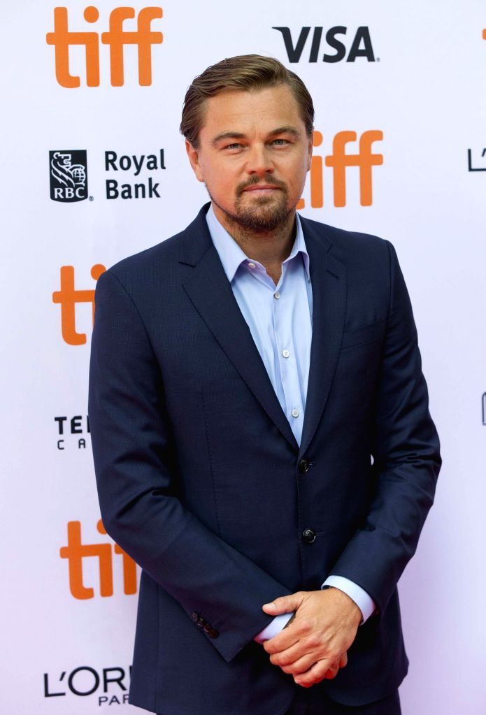"TORONTO, Sept. 9, 2016 - Actor Leonardo DiCaprio poses for photos before the world premiere of the documentary film  ""Before the Flood"" during the 41st Toronto International Film Festival ... - Leonardo D"