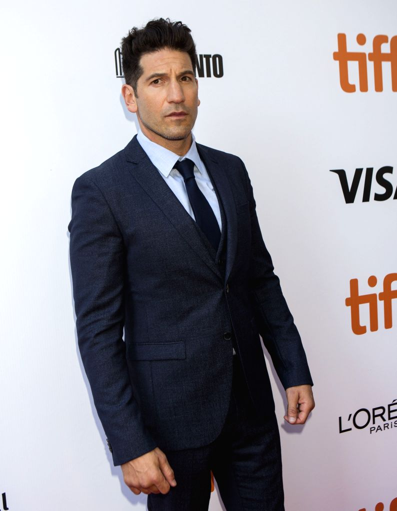 "TORONTO, Sept. 9, 2019 - Actor Jon Bernthal poses for photos before the international premiere of the film ""Ford v Ferrari"" at Roy Thomson Hall during the 2019 Toronto International Film ... - Jon Bernthal"
