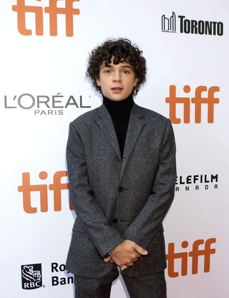 "TORONTO, Sept. 9, 2019 - Actor Noah Jupe poses for photos before the international premiere of the film ""Ford v Ferrari"" at Roy Thomson Hall during the 2019 Toronto International Film ... - Noah Jupe"