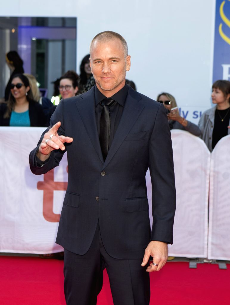 "TORONTO, Sept. 9, 2019 - Actor Sean Carrigan poses for photos before the international premiere of the film ""Ford v Ferrari"" at Roy Thomson Hall during the 2019 Toronto International Film ... - Sean Carrigan"