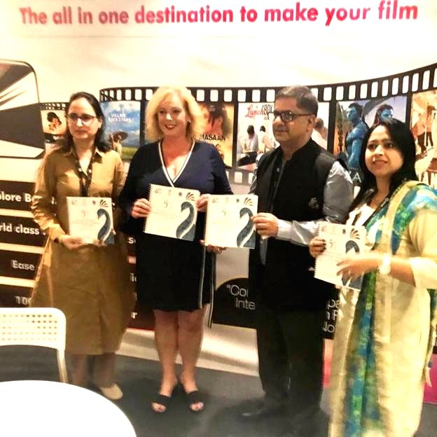 Toronto: The Indian delegation at Toronto International Film Festival (TIFF) 2019, on Sep 7, 2019. The delegation met with a number of Key Stakeholders from the international film-making industry and apprised them of the proposed festival architectur