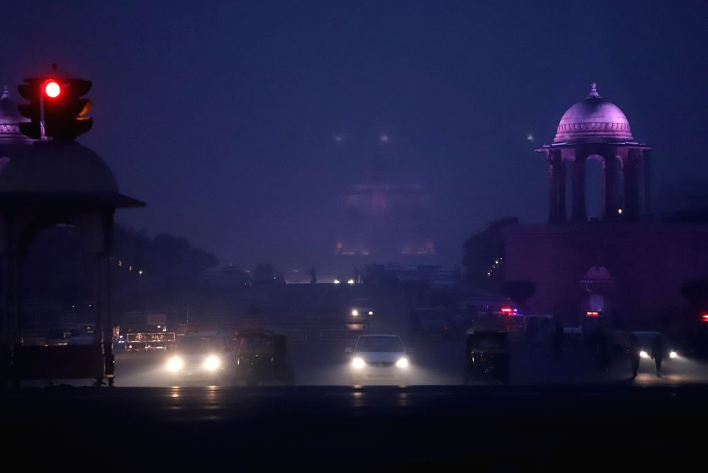 Toxic haze engulfs the national capital as the air quality worsens, on Nov 15, 2019.