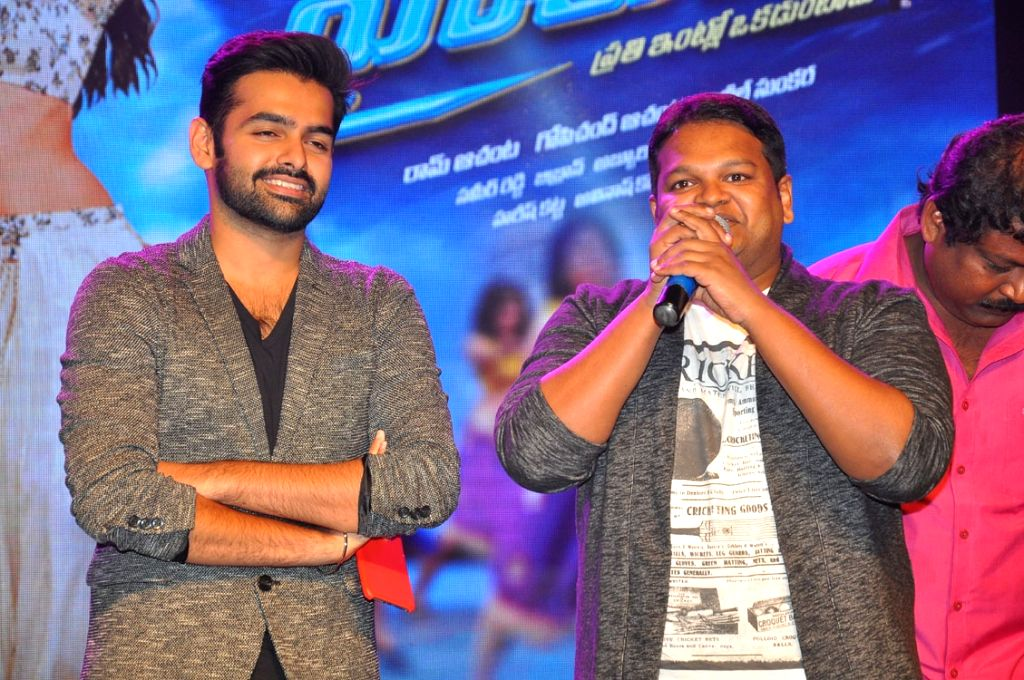 Trailer launch of Telugu film Hyper in Hyderabad on Sept. 23, 2016.