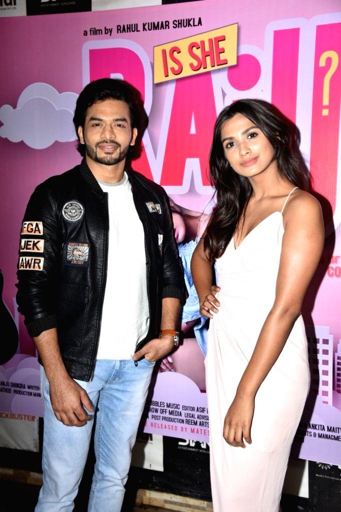 "Trailer launch of upcoming film ""Is She Raju?"" in Mumbai on Feb 14, 2019."