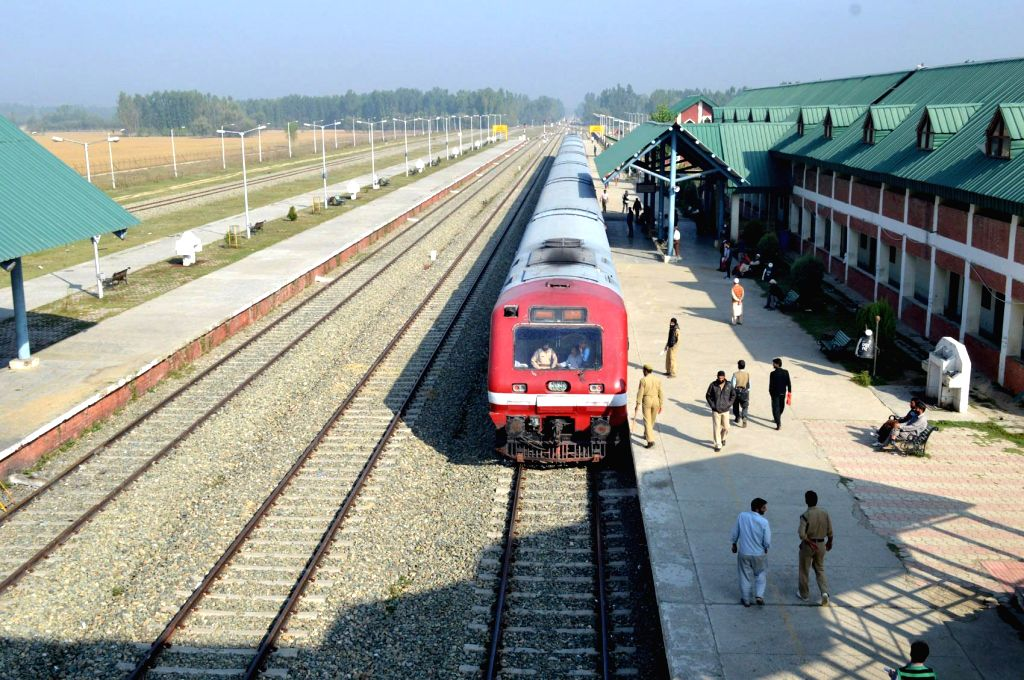 Train service to resume after 11 months in Kashmir