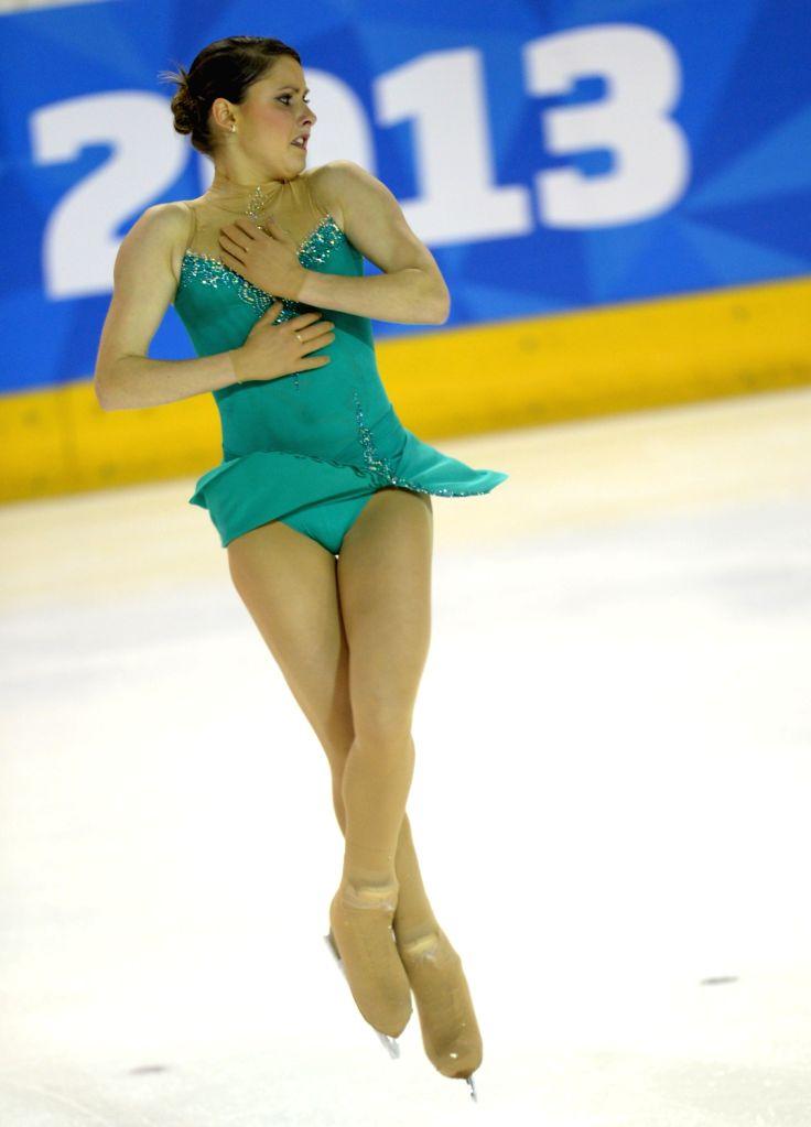 Sofia Biryukova of Russia competes during Ladies Free Skating at the 2013 Winter Universiade in Trentino, Italy, on Dec. 15, 2013. Sofia Biryukova claimed the