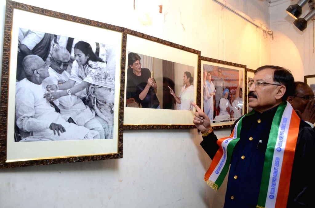 Trinamool Congress MP from Howrah Lok Sabha constituency, Prasun Banerjee during a photo exhibition organised by Kolkata Sports Photojournalists Association in Howrah on Jan 28, 2019. - Prasun Banerjee