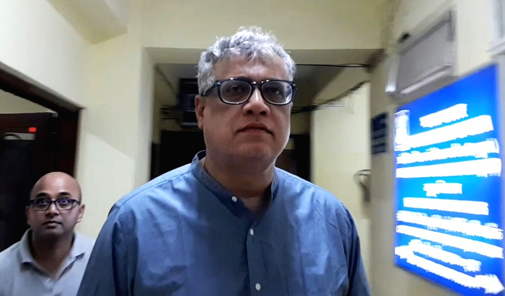 Trinamool Congress Rajya Sabha MP Derek O'Brien arrives to appear before the Central Bureau of Investigation (CBI) in connection with the Saradha chit fund scam, in Kolkata on Aug 9, 2019.