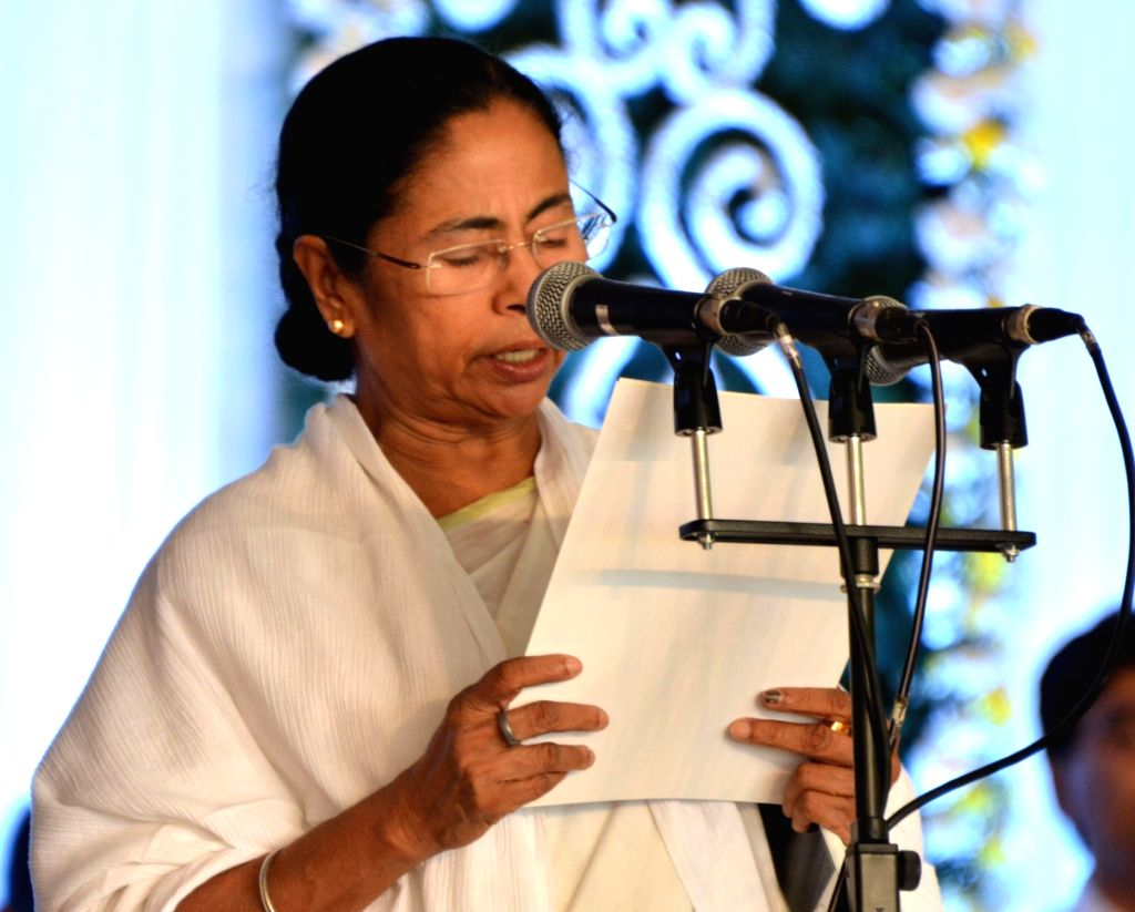 Trinamool Congress supremo Mamata Banerjee assumes charge as  West Bengal chief minister in Kolkata, on May 27, 2016. - Mamata Banerjee