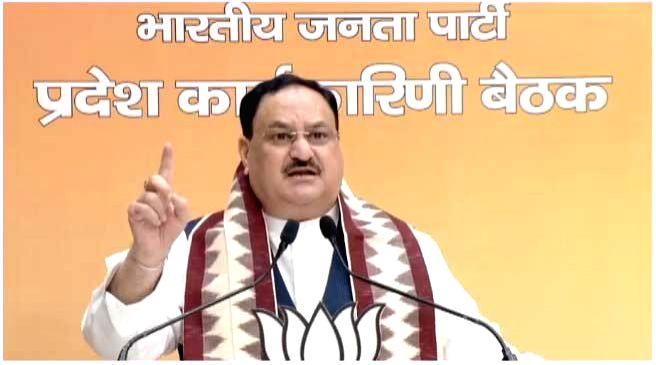 Trinamool govt encouraging anti-Hindu mind set in Bengal: Nadda . (Photo: IANS)