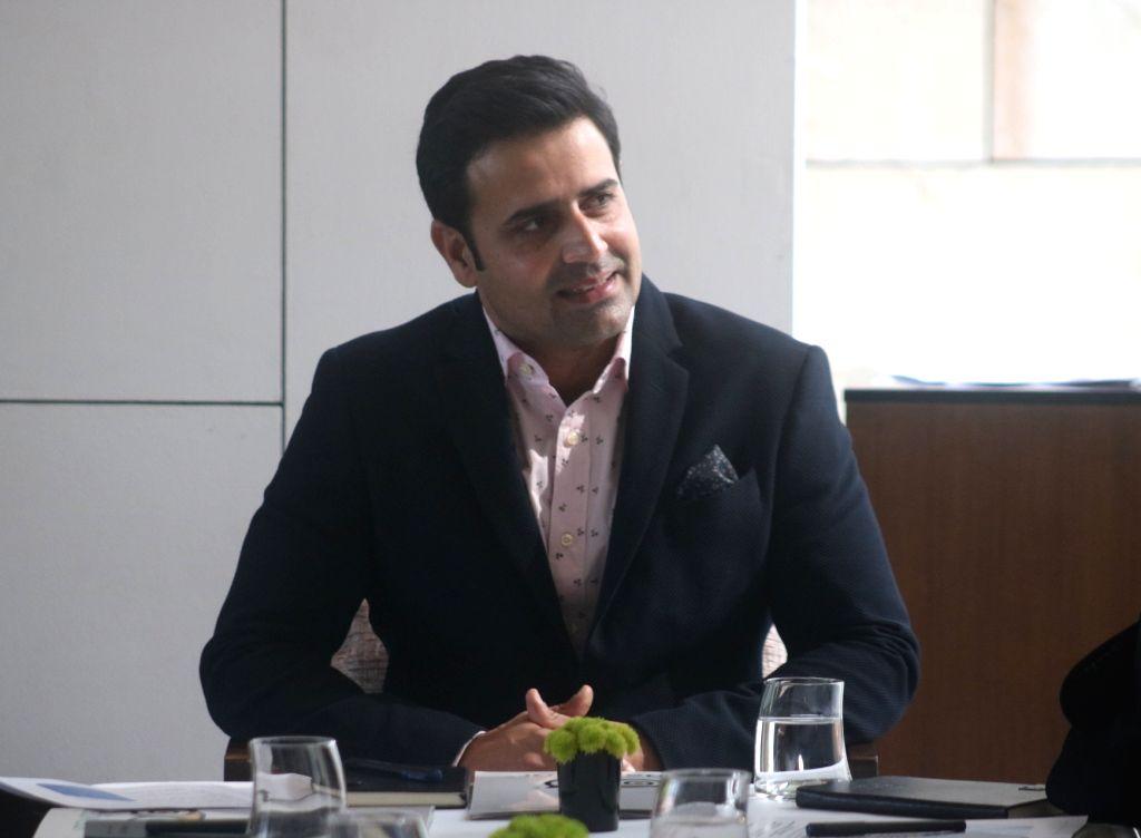 TripAdvisor India Country Manager Nikhil Ganju at 2017 Travellers' Choice Awards felicitation programme in New Delhi on Nov 30, 2017.