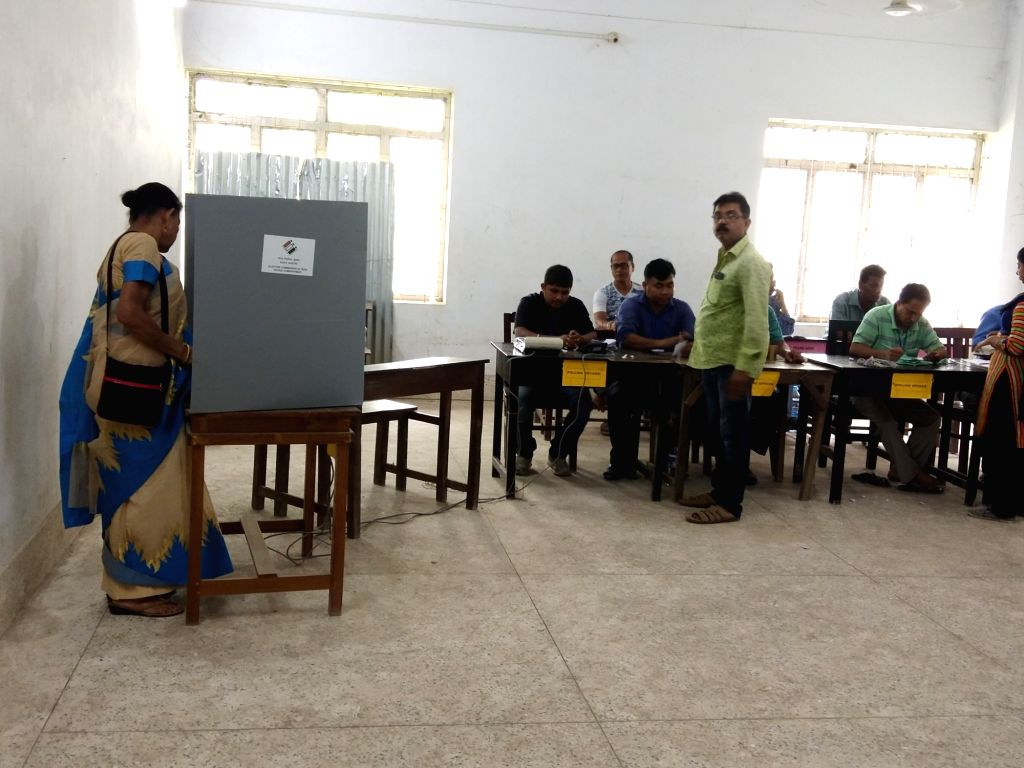 Tripura West: The re-polling in 168 polling stations under the Tripura West parliamentary constituency underway on May 12, 2019. The Election Commission has decided to conduct the re-polls in 168 ...