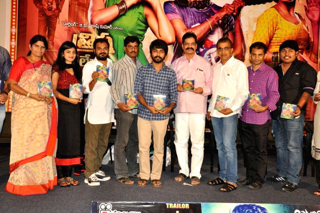 Trisha leda Nayanatara movie audio launch held at Prasad Labs in Hyderabad on Monday (27th Oct) evening.