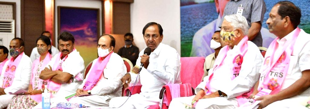 TRS promises free drinking water in Hyderabad.