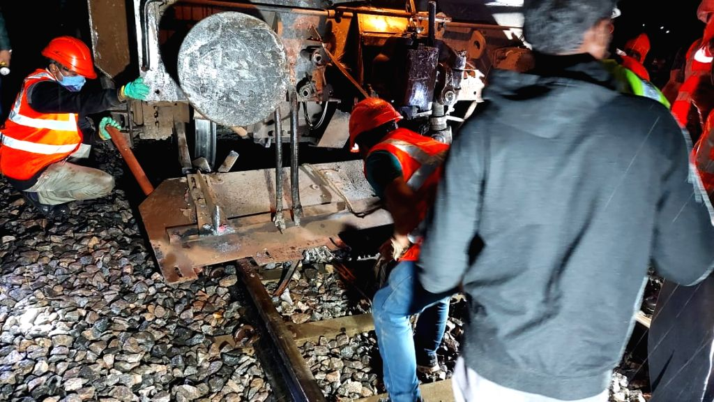 Truck collides with moving passenger train in K'taka, no casualties reported