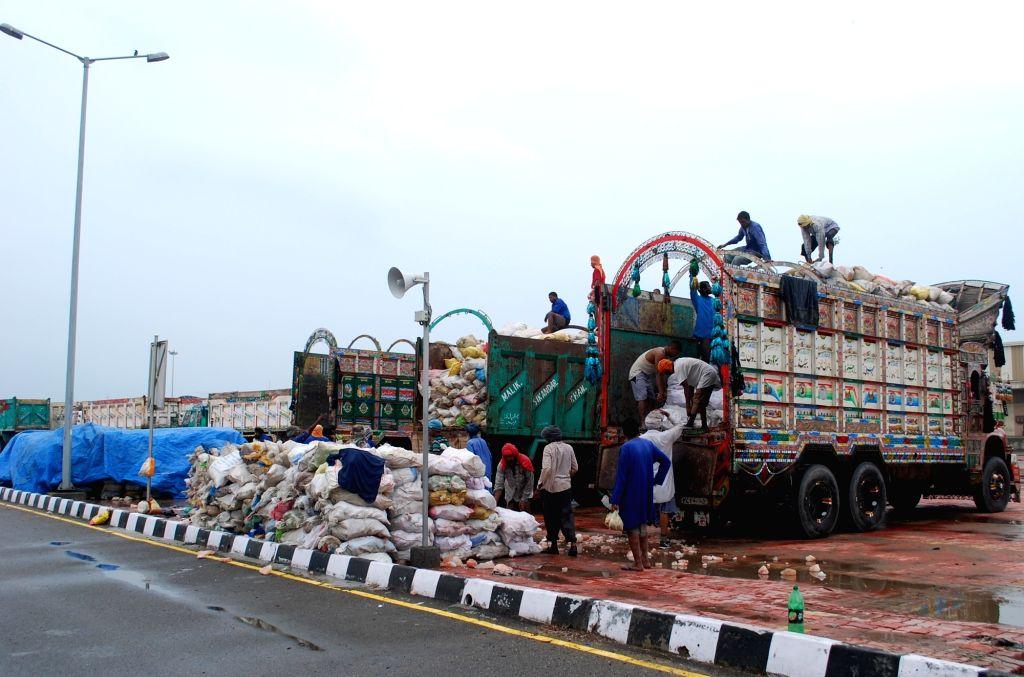 Trucks. (File Photo: IANS)