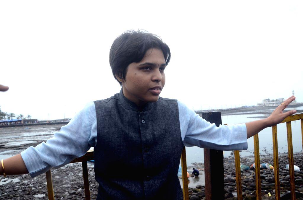 Trupti Desai. (Photo: IANS) - Trupti Desai