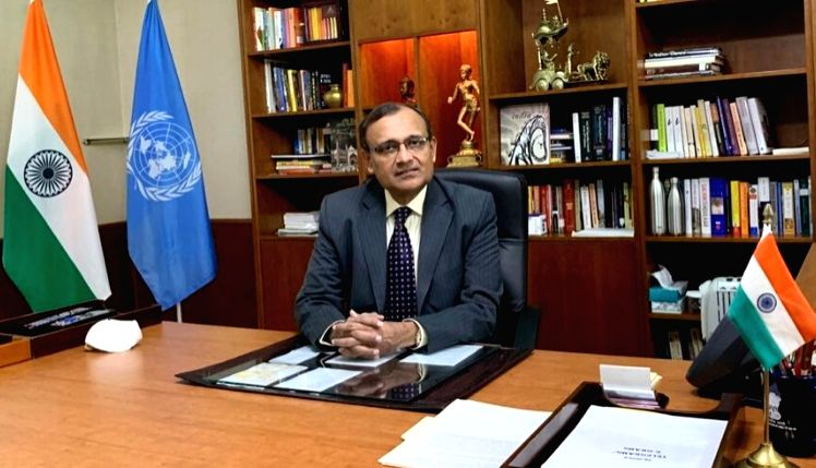 TS Tirumurti, India's Permanent Representative to the United Nations (Photo: Indian Mission/IANS)