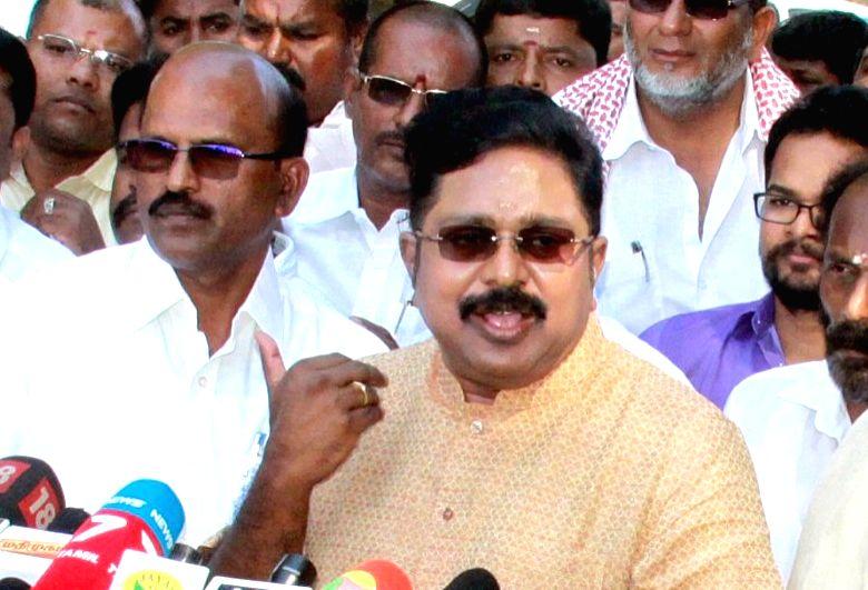 TTV Dhinakaran. (File Photo: IANS)