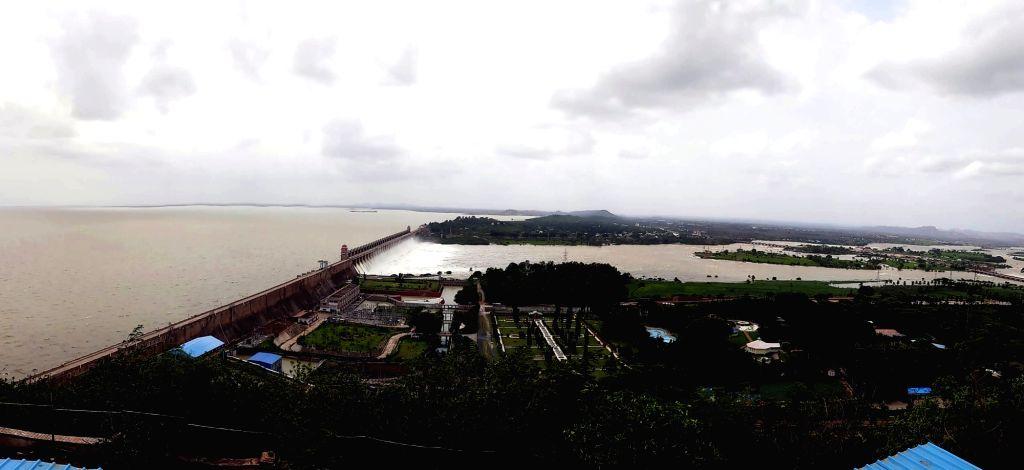 Tungabhadra Dam. (File Photo: IANS)