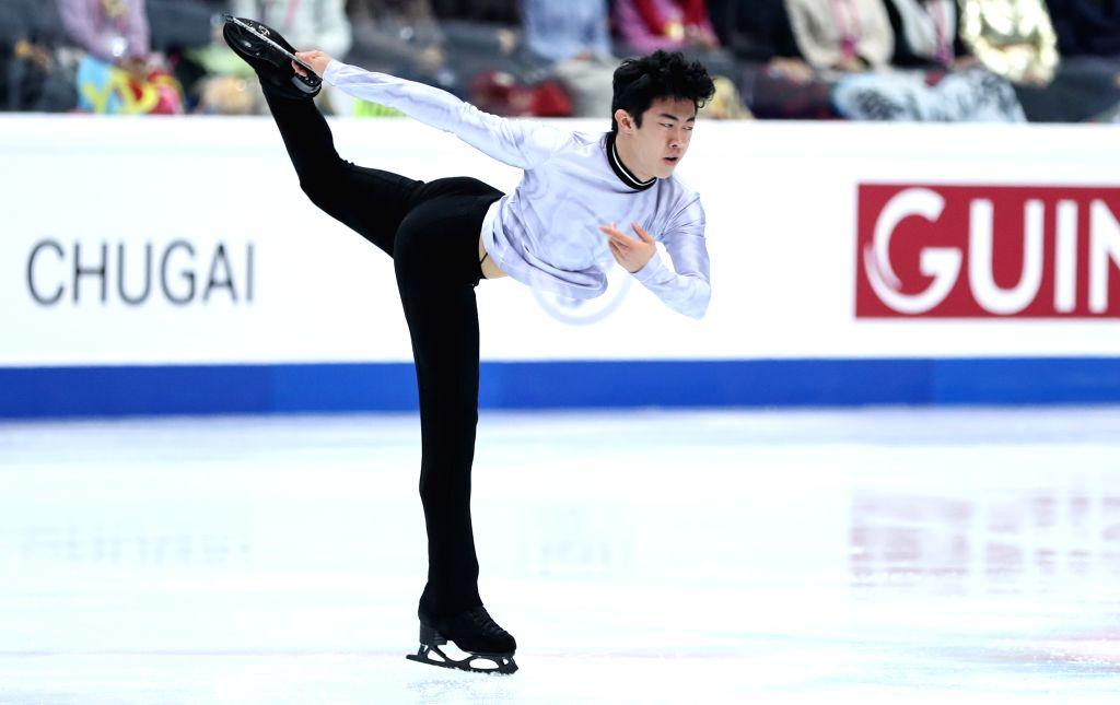 TURIN, Dec. 6, 2019 - Nathan Chen of The United States competes during the men's short program at the ISU Grand Prix of Figure Skating Final 2019 in Turin, Italy, Dec. 5, 2019.