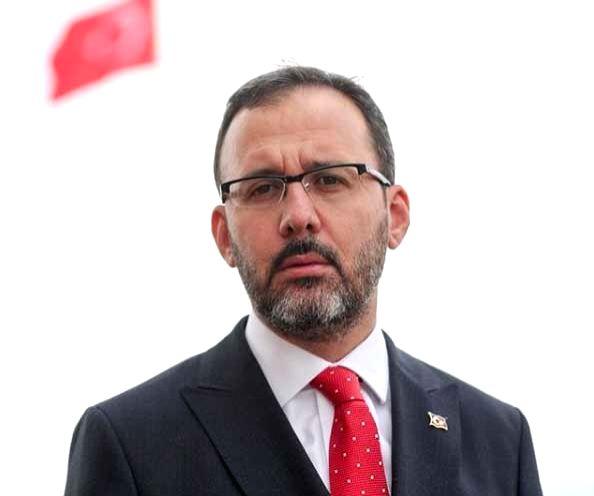 Turkish Sports Minister Mehmet Kasapoglu. - Mehmet Kasapoglu