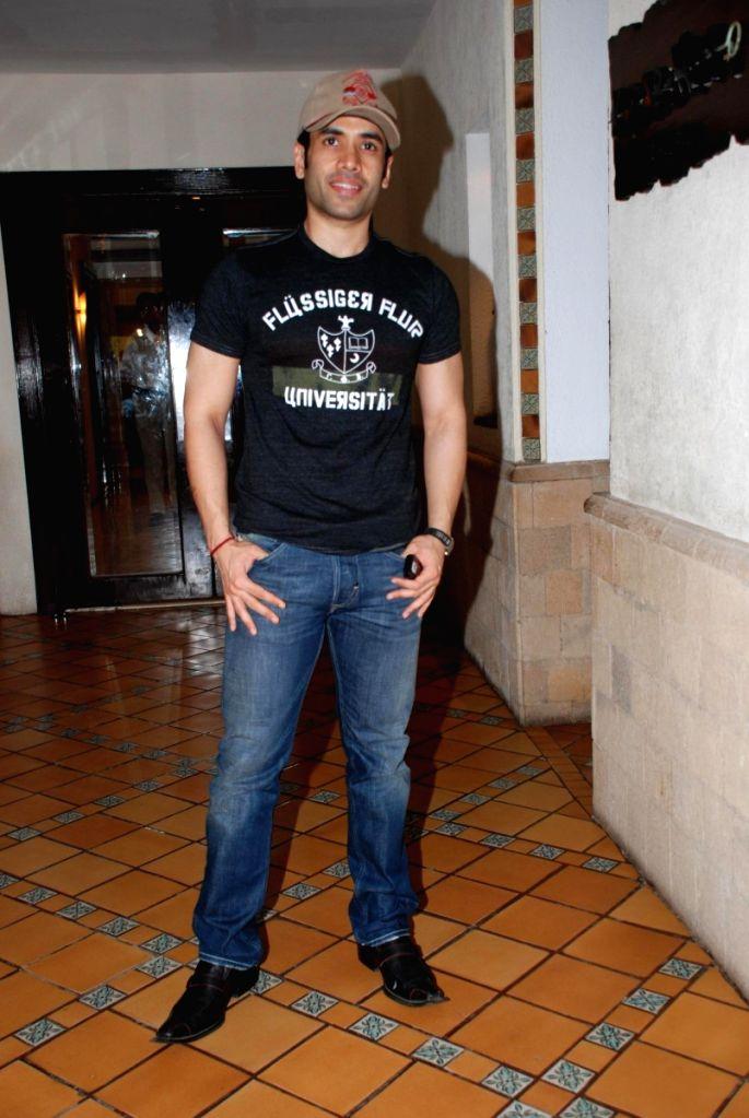 "Tushar Kapoor at the launch of TV serial ""Aashik Biwi Ka"". - Tushar Kapoor"