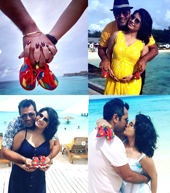 TV actress Priya Ahuja Rajda, who is happily married to Gujarati director Malav Rajda, is pregnant. Yes, the couple is expecting their first child and they are super-excited for the arrival of their little bundle of joy. On the occasion of Janmashtam - Priya Ahuja Rajda