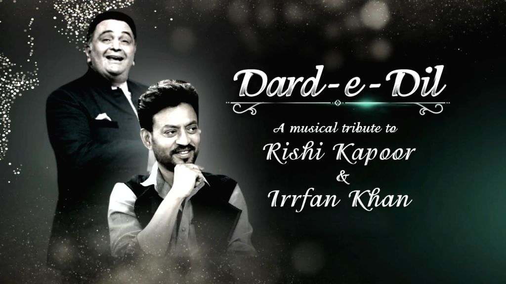 TV industry to pay musical tribute to Rishi Kapoor, Irrfan Khan. - Rishi Kapoor and Irrfan Khan