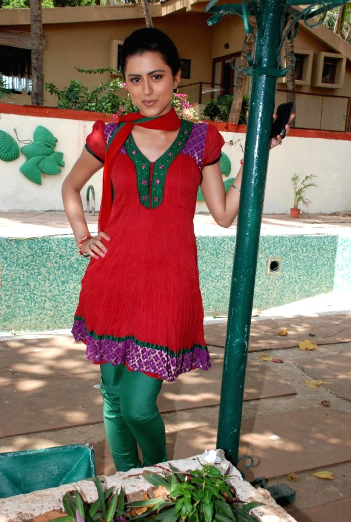 "TV serial ""Hindi Hain Hum"" on location."