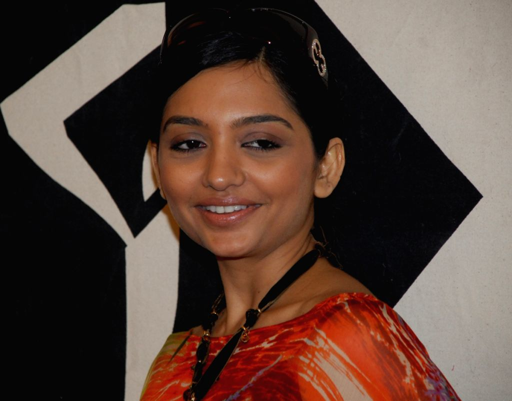 TV star June Malya at a function, official Promo film launched programme of Kolkata Fashion week In Kolkata on Monday 30th Mar 09.