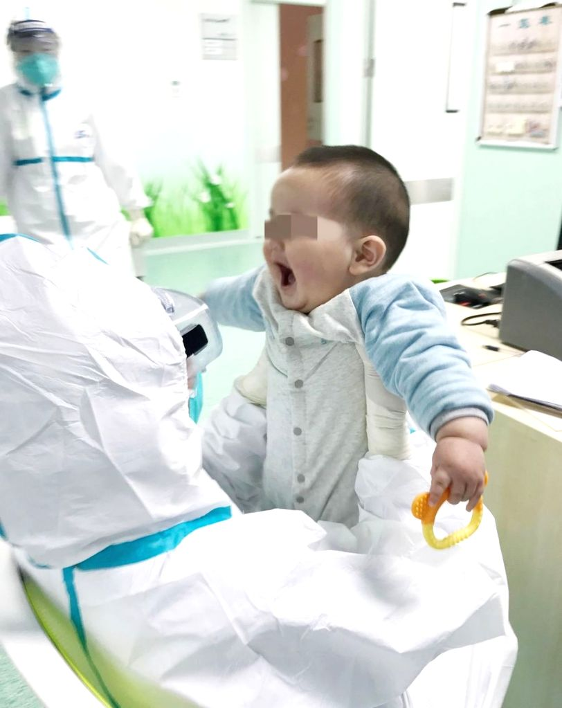 "Tweeple poured love and wished for the speedy recovery of a six-month-old baby diagnosed with the deadly coronavirus and quarantined alone at a Wuhan hospital. Heartwarming photos of the six-month-old baby went viral as the baby now has ""nurse moms"""