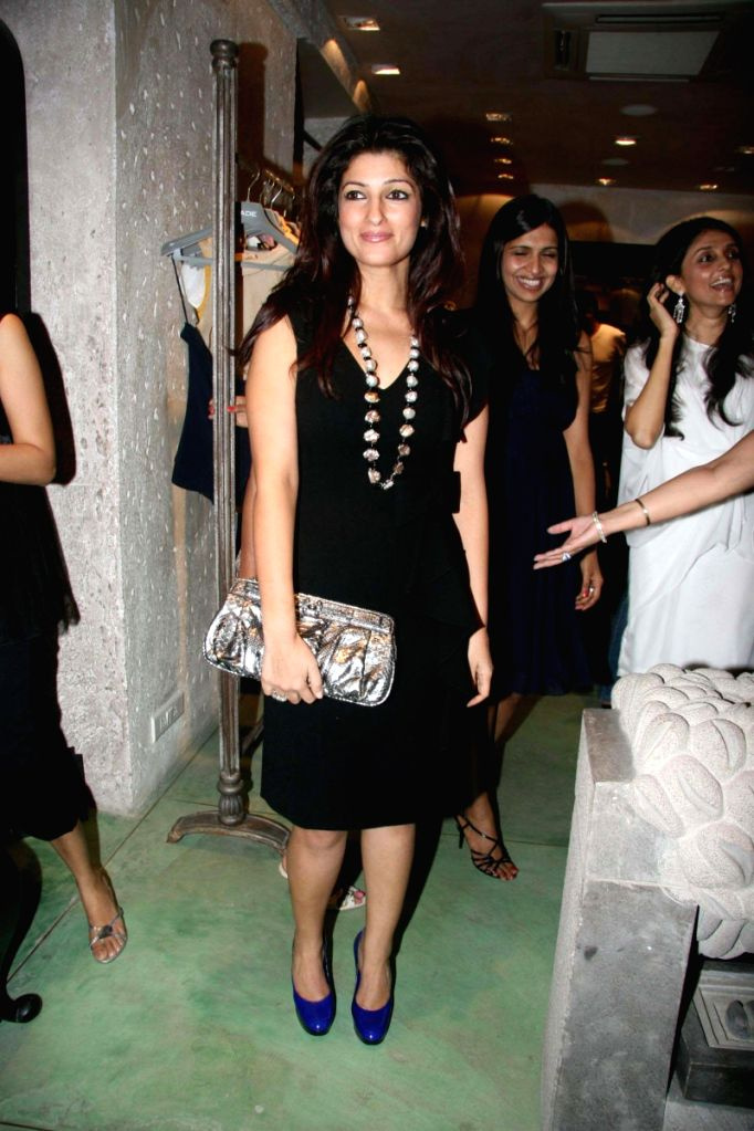 Twinkle Khanna at Jade store launch in Mumbai. - Khanna