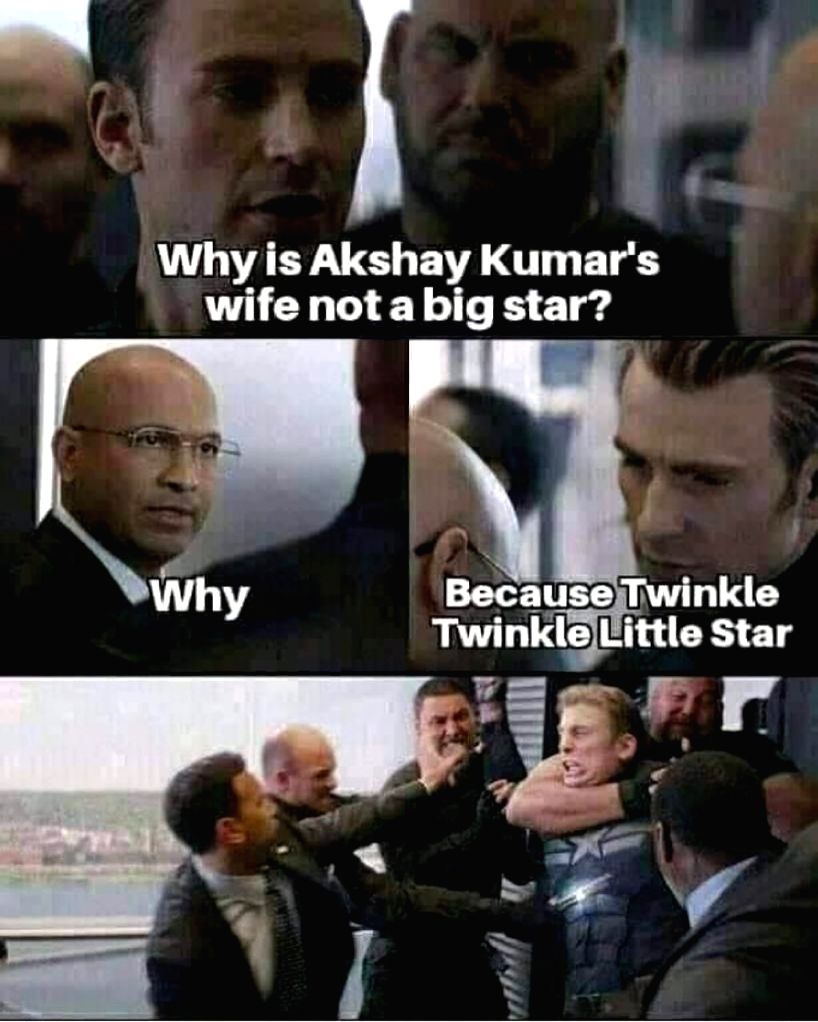 Twinkle Khanna reacts to a hilarious viral meme about her - Khanna