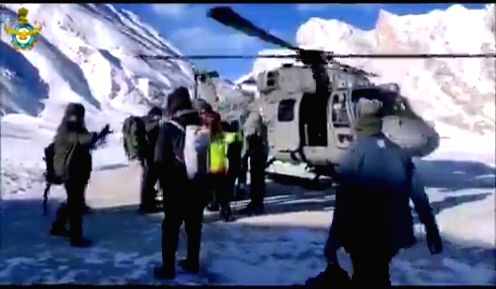 "Twitterati on Friday hails the Indian Air Force Personnel for saving the lives of the 71 trekkers by carried out a Search & Rescue Operation at Niraq in Zanskar valley. The Indian Air Force @IAF_MCC shared a clip and wrote, ""#SavingLives: Indian Air"