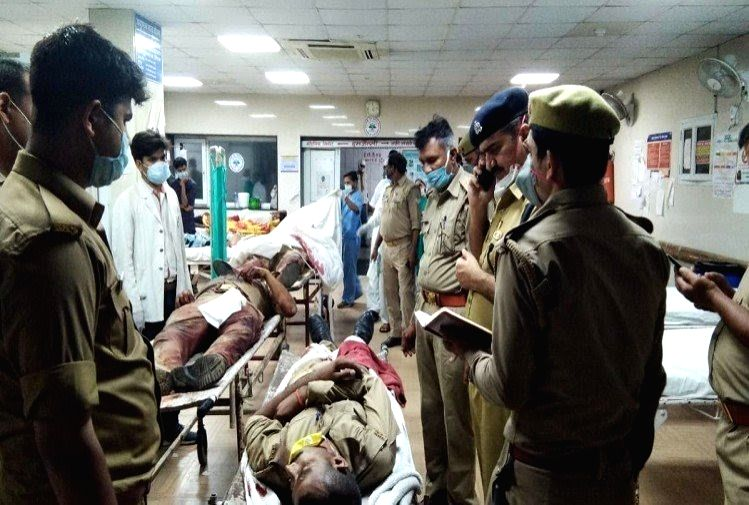 Two criminals, purportedly belonging to the Vikas Dubey gang that shot dead eight police personnel early on Friday, have been shot dead by the police, hours after the incident, in Kanpur on ...