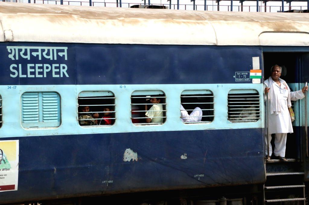 Two injured in freak train mishap in Kolkata. (File Photo: IANS)