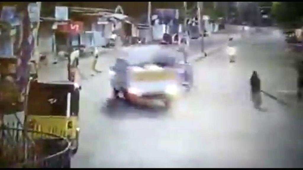 Two killed as pickup truck runs amok in Telangana