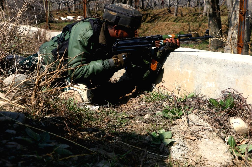 Two Militants killed in an encounter at Sirhama, Bijbehara Anantnag district. Feb 24,  2021.