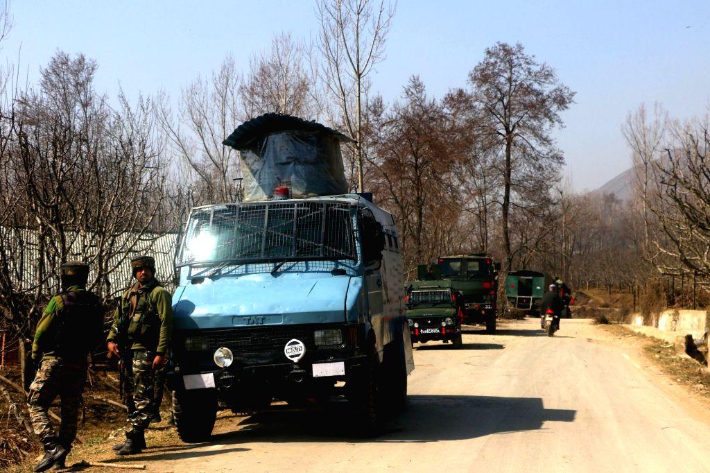 Two Militants killed in an encounter at Sirhama, Bijbehara Anantnag district. Feb 24,  2021.