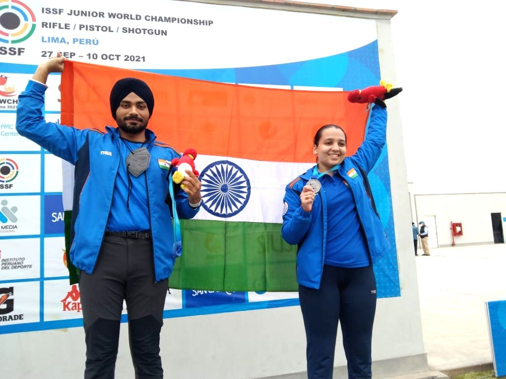 Two more gold medals for India at Jr Shooting World Championship