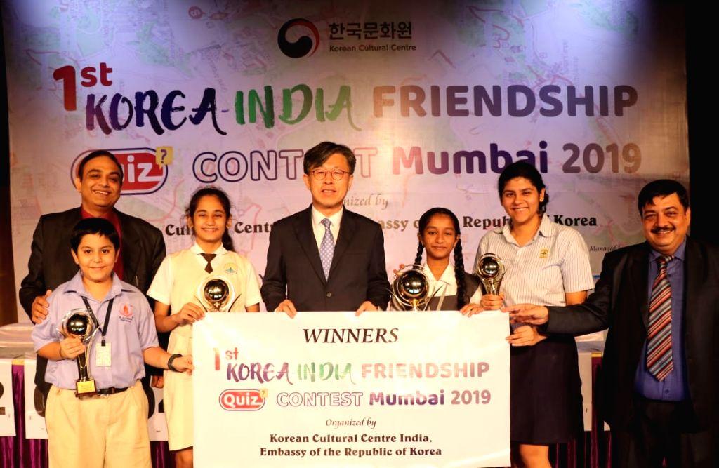 "Two Mumbai schoolgirls - Pratima Tawde and Sarika Tripathi won the top prizes at the ""1st Korea ??? India Friendship Quiz Contest Mumbai 2019"", and will go on a weeklong trip to South ... - Sarika Tripathi"