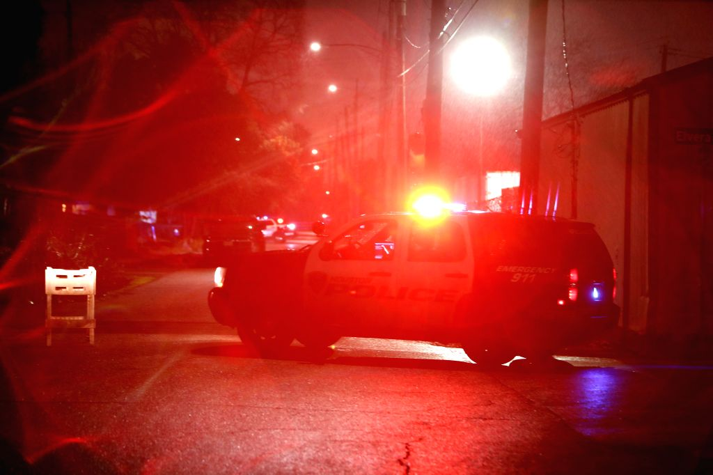 Two shootings left 1 dead, 2 injured in US. (Xinhua/Steven Song/IANS)