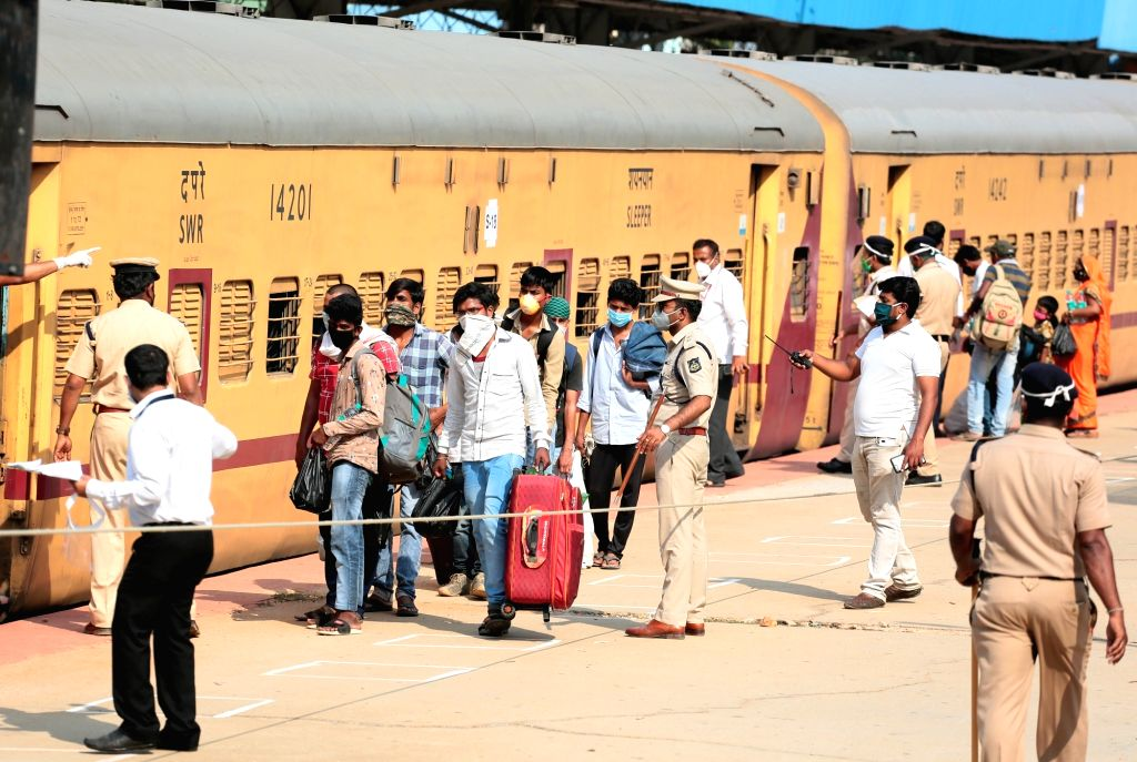 Two special trains with migrants leave TN for Bihar, Jharkhand