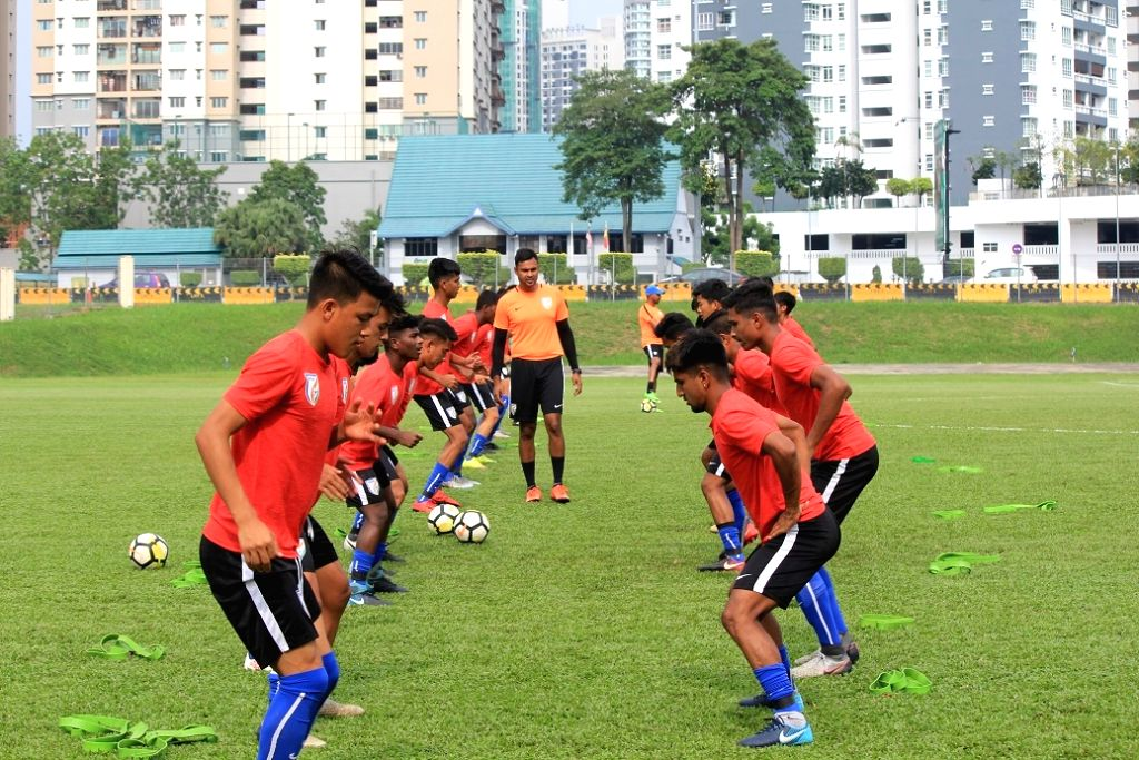 U-16 (Boys) Indian National Football Team. (File Photo: IANS)