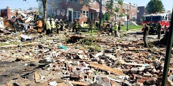 U.S. Baltimore gas explosion