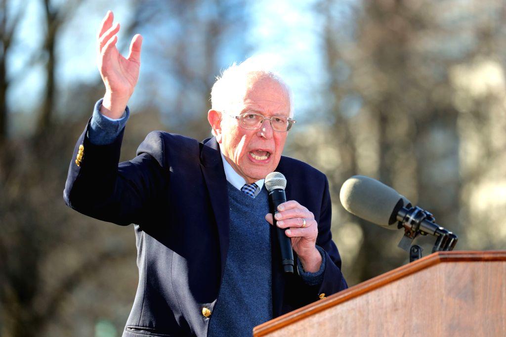 U.S. Democratic presidential candidate Bernie Sanders.